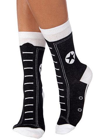 Hi-Top Socks in Black