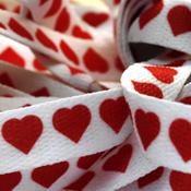 Купить шнурки с сердечками