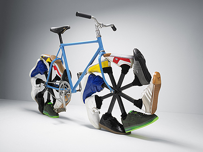 кеды велосипед