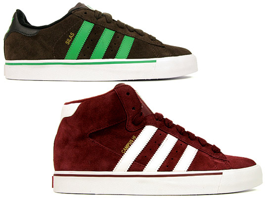 online store b5c56 d756c Обувь adidas Skateboarding Campus Vulc Hi   Silas